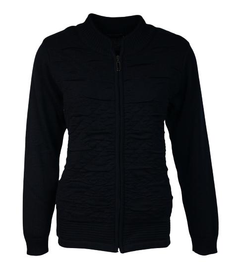 Leona per donna vest zwart