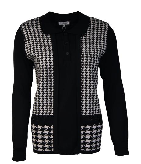 Styles fashion trui zwart